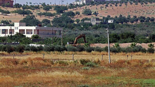 Cerablus sınırı - Sputnik Türkiye