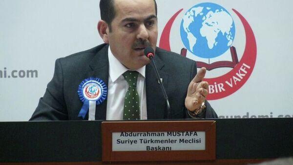 Suriye Türkmen Meclisi Başkanı Abdurrahman Mustafa - Sputnik Türkiye
