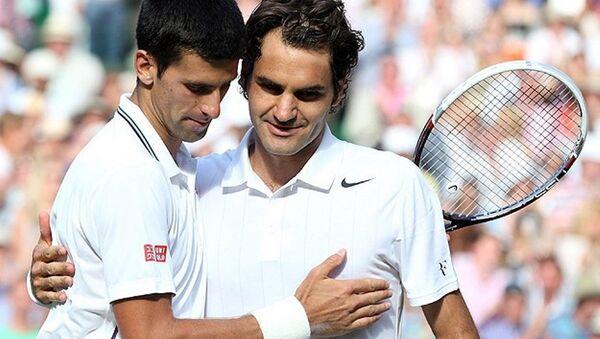 Roger Federer - Novak Djokovic  - Sputnik Türkiye