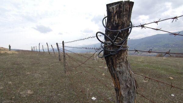 Gürcistan-Güney Osetya sınırı - Sputnik Türkiye