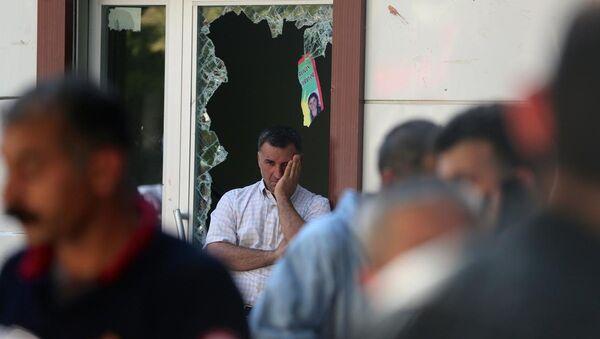 Suruç'ta terör saldırısı - Sputnik Türkiye
