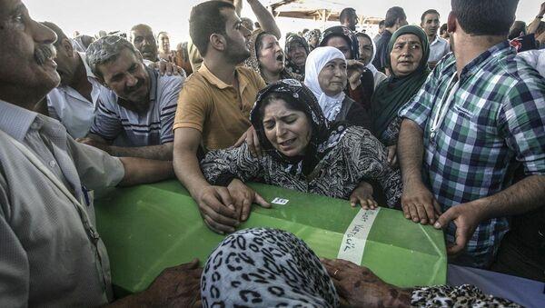 Suruç'taki terör saldırısı - Sputnik Türkiye