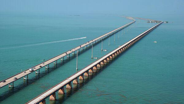 Florida'daki Yedi Mil Köprüsü - Sputnik Türkiye