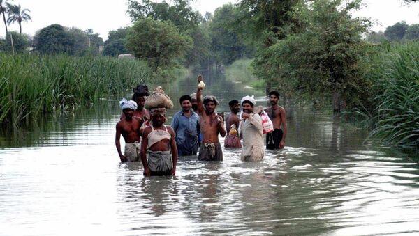 Muson yağmurları - Pakistan - Sputnik Türkiye