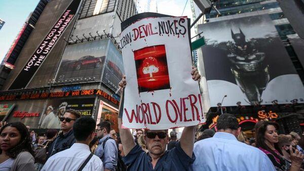 New York nükleer protestosu - Sputnik Türkiye