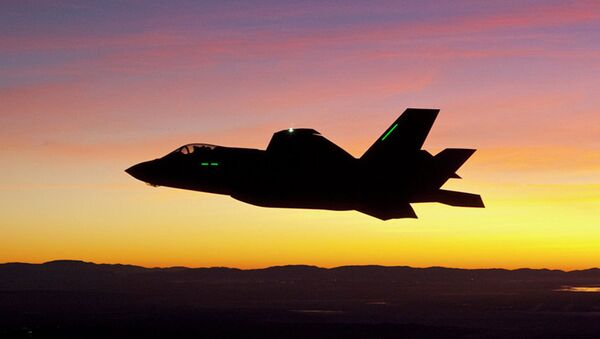 F-35 Lightning II savaş jeti - Sputnik Türkiye