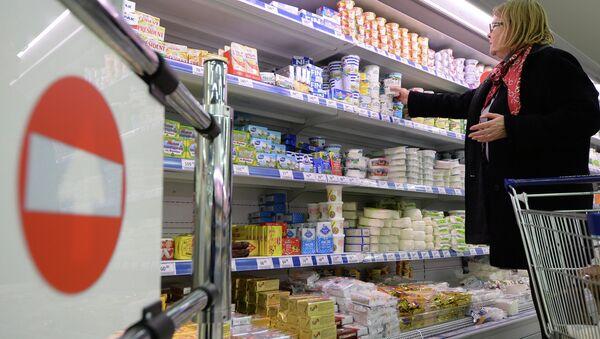 Moskova'da bir süpermarket - Sputnik Türkiye