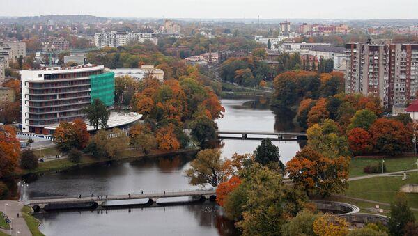 Kaliningrad'da Dvortsovoye gölü - Sputnik Türkiye