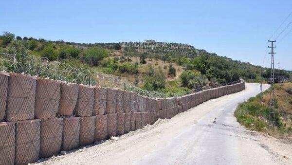 Suriye sınırına duvar örülüyor - Sputnik Türkiye