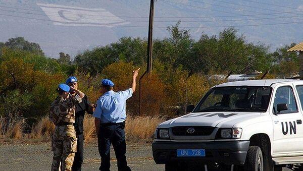Kıbrıs'ta bulunan BM Barış Gücü - Sputnik Türkiye