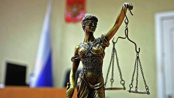 Rusya'da bir mahkeme - Sputnik Türkiye