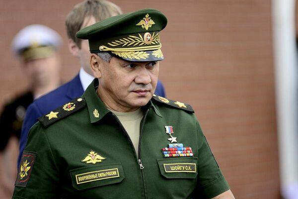 Rusya Savunma Bakanı Sergey Şoygu, Uluslararası Ordu Oyunları'nı izliyor - Sputnik Türkiye