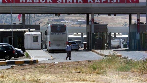 Habur Sınır Kapısı - Sputnik Türkiye
