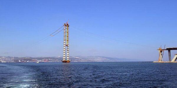 İzmit Körfez Geçişi Asma Köprüsü'nde sona gelindi - Sputnik Türkiye