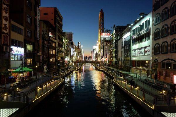 Japonya'nın Tokyo'dan sonraki en büyük şehri Osaka, 3. sırada yer aldı. - Sputnik Türkiye