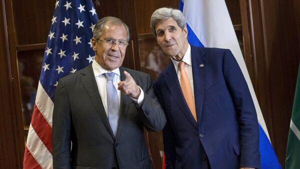 Sergey Lavrov - John Kerry - Sputnik Türkiye