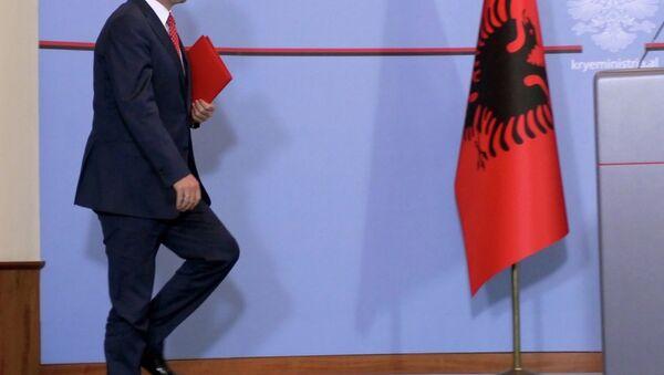 Arnavutluk Başbakanı Edi Rama - Sputnik Türkiye