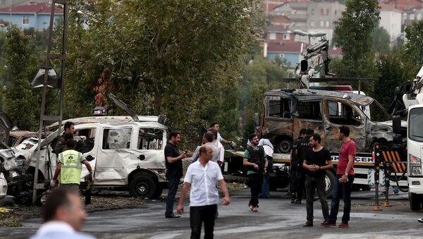 Sultanbeyli'deki polis merkezine saldırı - Sputnik Türkiye