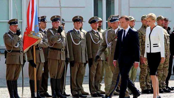 Polonya Başbakanı Andrzej Duda - Sputnik Türkiye