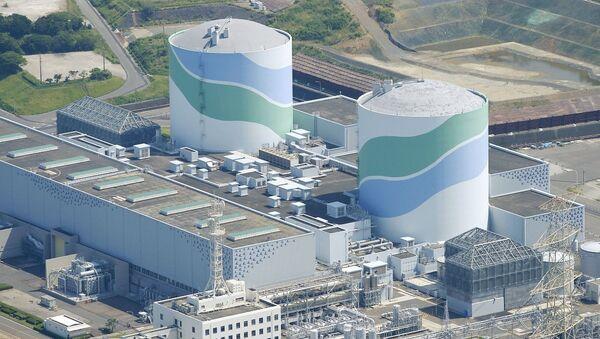 Japonya - Sendai nükleer güç santrali - Sputnik Türkiye