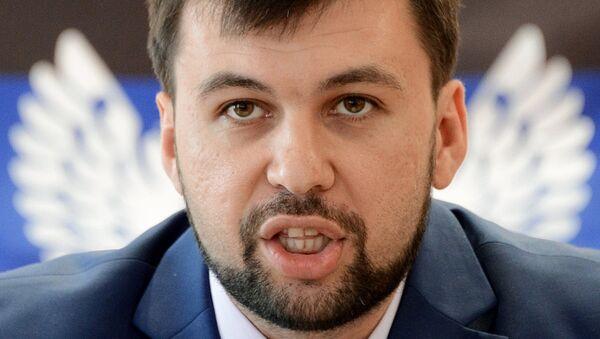 Denis Puşilin - Sputnik Türkiye