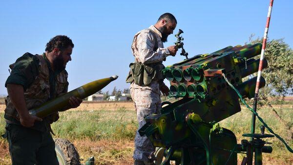 Suriye'deki iç savaş - Sputnik Türkiye