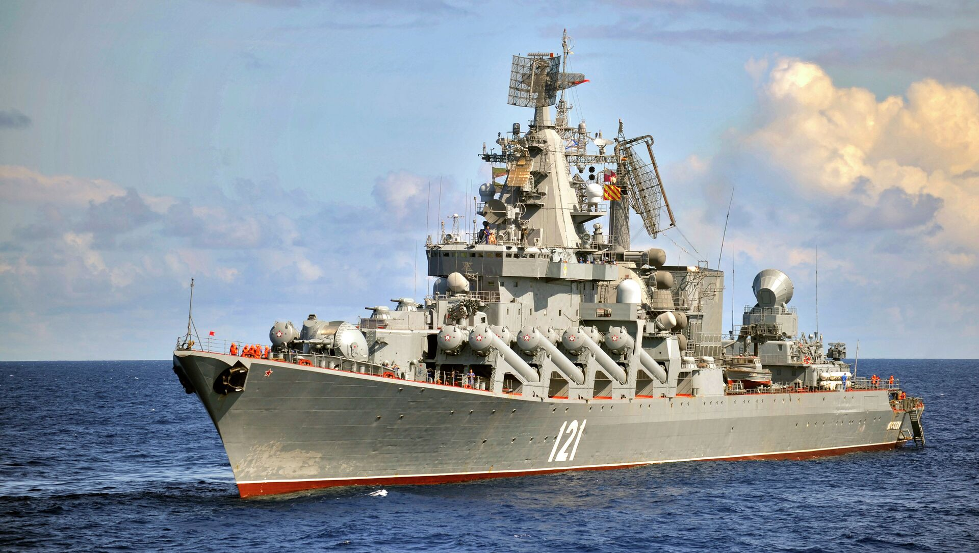 Rusya Karadeniz Filosu -  Moskova füze kruvazörü - Sputnik Türkiye, 1920, 14.04.2021