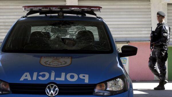 Brezilya polis - Sputnik Türkiye