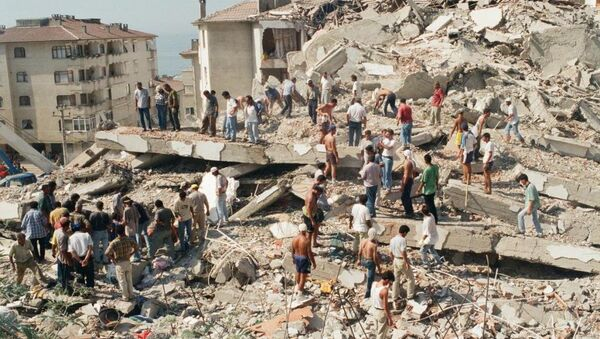 17 Ağustos Depremi - Sputnik Türkiye