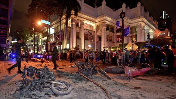 Bangkok saldırı - Sputnik Türkiye