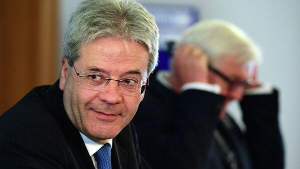 İtalya Dışişleri Bakanı Paolo Gentiloni - Sputnik Türkiye