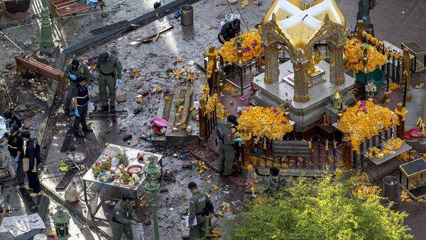 Tayland'da tapınak saldırısı - Sputnik Türkiye