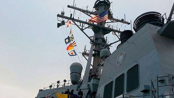 ABD Aegis gemisi - Sputnik Türkiye