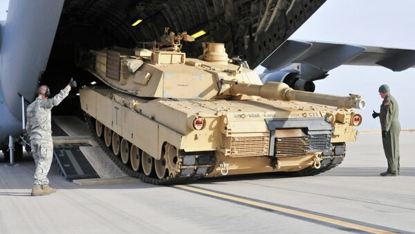 M1 Abrams tipi savaş tankı - Sputnik Türkiye