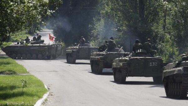Donetsk Halk Cumhuriyeti milisleri - Sputnik Türkiye