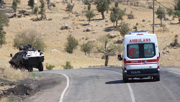 Şırnak - Uludere yolunda PKK saldırısı - Sputnik Türkiye