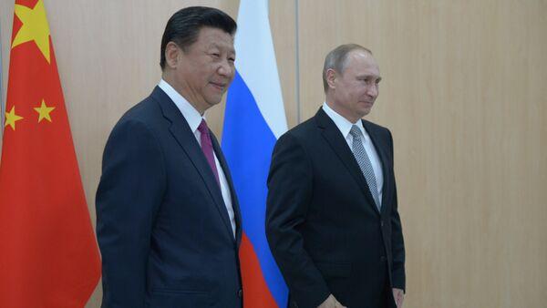 Vladimir Putin- Şi Cinping - Sputnik Türkiye