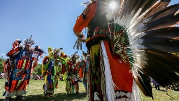 Kızılderililer 'Pow Wow' festivalinde buluştu - Sputnik Türkiye