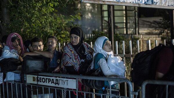 Suriye - göçmen - Sırbistan - Sputnik Türkiye