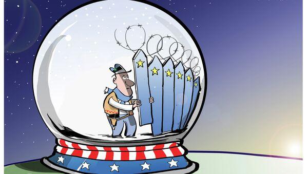 Estonya, Rusya sınırına duvar örecek - Sputnik Türkiye