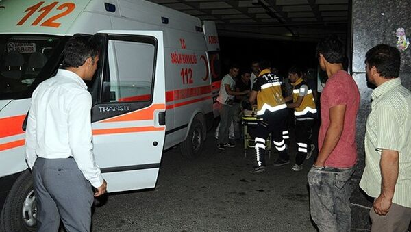 hastane, acil, ambulans - Sputnik Türkiye