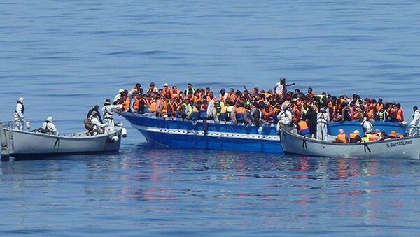 kaçak göçmen - Sputnik Türkiye