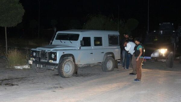 çatışma, saldırı, polis, zırhlı araç - Sputnik Türkiye