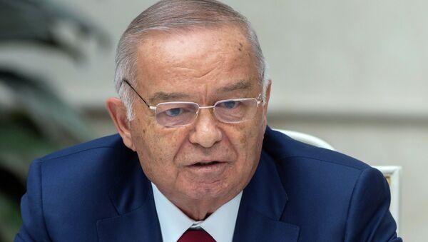 Özbekistan Devlet Başkanı İslam Kerimov - Sputnik Türkiye