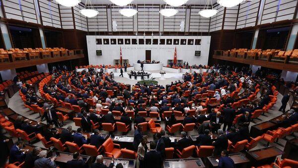TBMM Genel Kurulu olağanüstü toplandı - Sputnik Türkiye