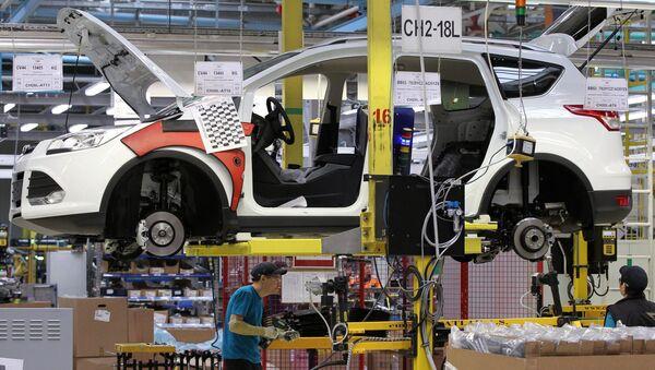 Ford otomobil fabrikası - Sputnik Türkiye