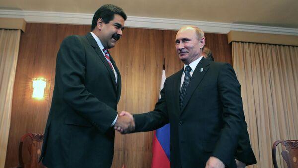 Vladimir Putin & Nicolas Maduro - Sputnik Türkiye