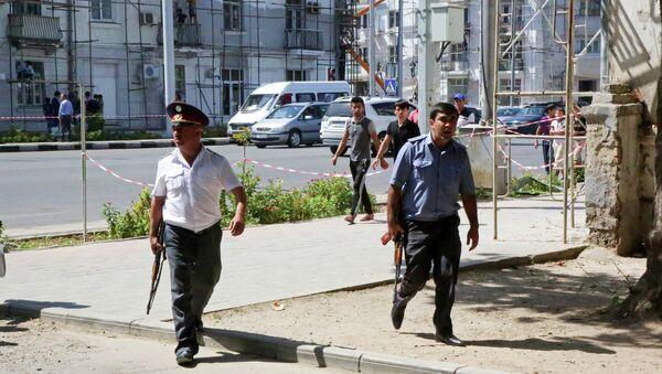 Tacikistan'da polis ve askere saldırı - Sputnik Türkiye