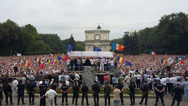 Moldova'da protestolar - Sputnik Türkiye