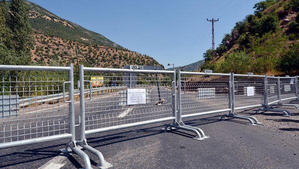 Tunceli-Pülümür ve Tunceli-Ovacık karayolları ulaşıma kapatıldı - Sputnik Türkiye
